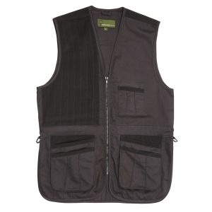 Cotton Canvas Skeet Vest Black SK
