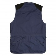 Cotton Canvas Skeet Vest Navy back SK