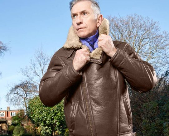gents antique pilot jacket grey fox blog phtographed by paul harries