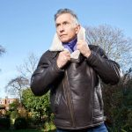 gents cream pilot jacket grey fox blog phtographed by paul harries