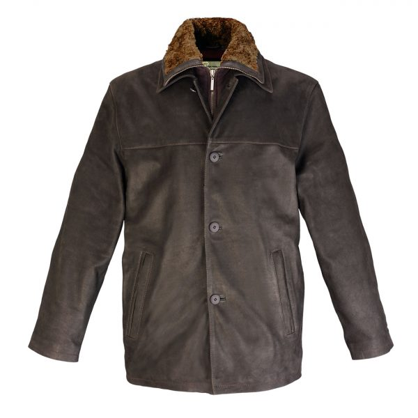 Gents-Leather-Coat-Brown-Tim
