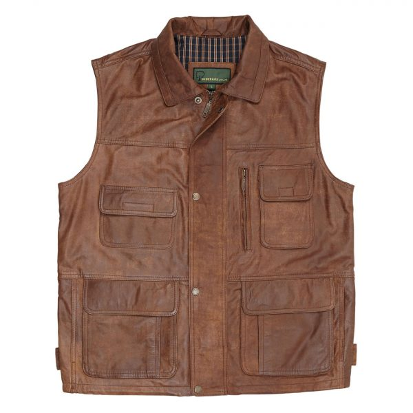 Gents-Leather-Gilet–Tan-Alf