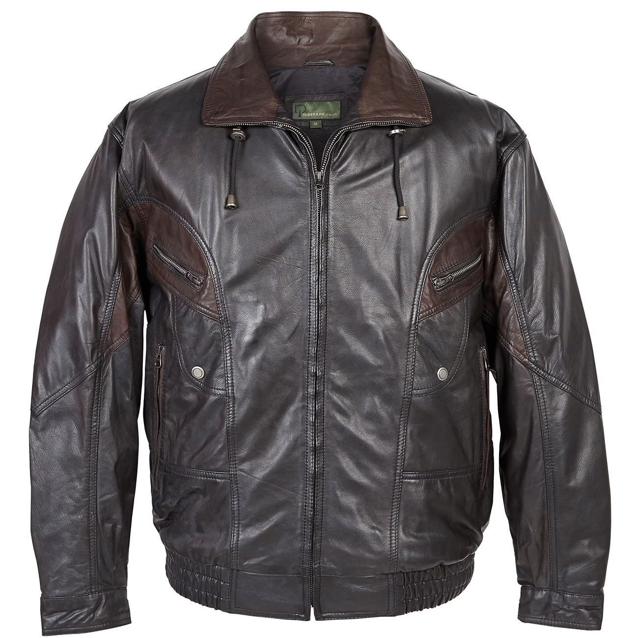 Gents Leather Jacket  Black