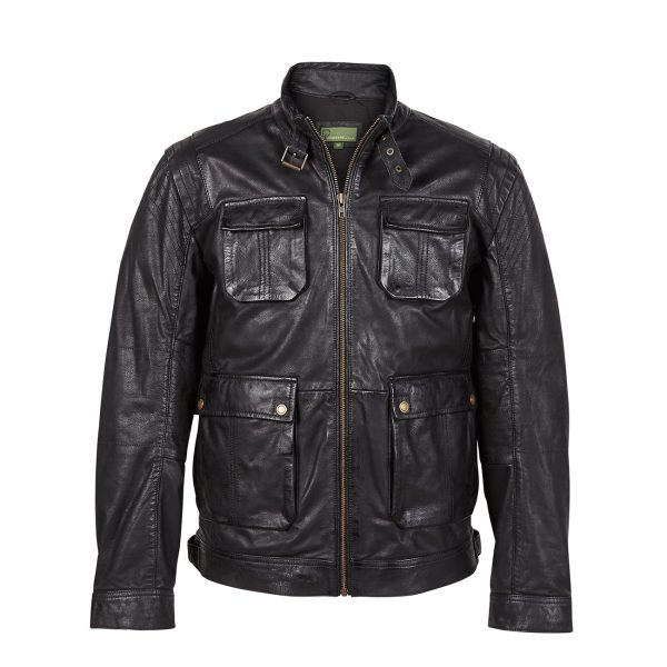 Gents-Leather-Jacket-Brown-Franco