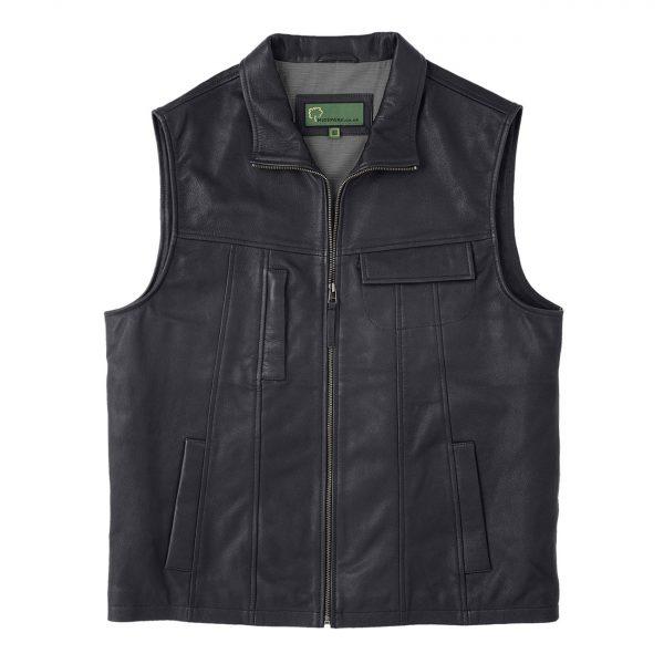 Gents-Leather-Vest-Black-Stan