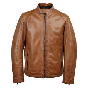 Gents Leather jacket Tan Luke