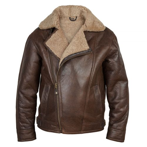 Gents Sheepskin Pilot jacket Antique