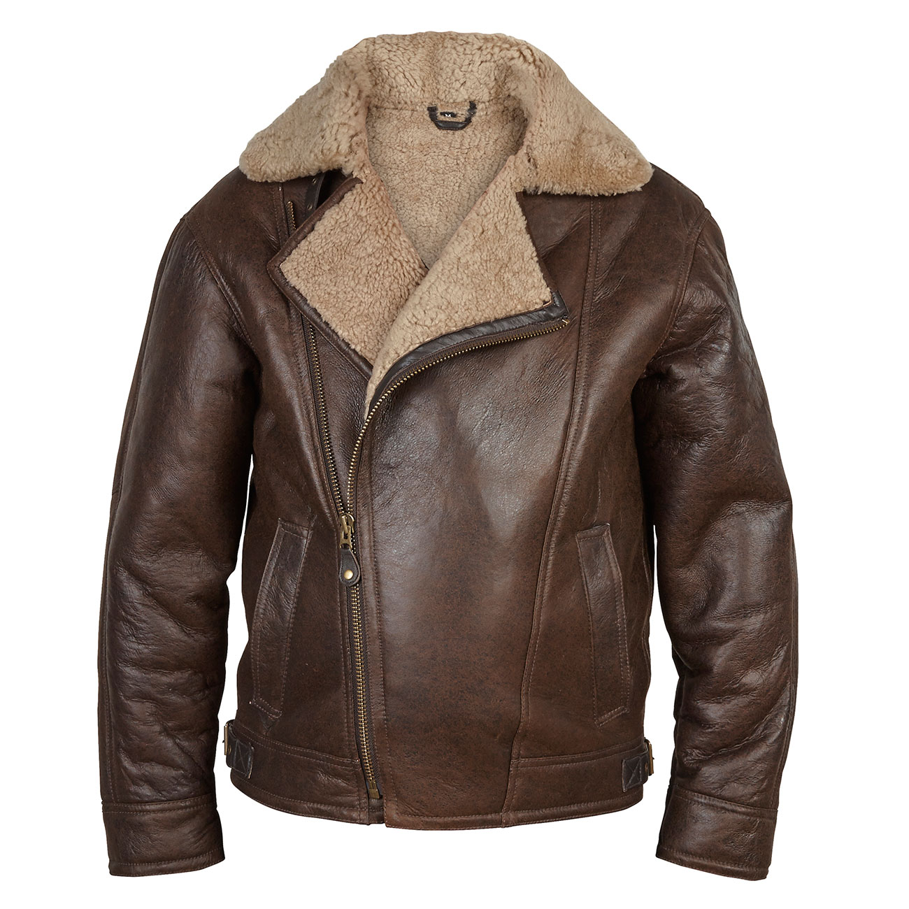 Gents Sheepskin Pilot jacket Antique