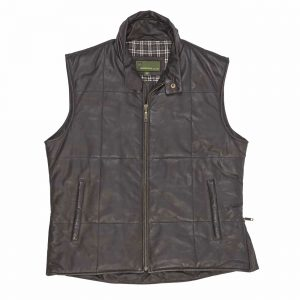 Mens Leather Body Warmers
