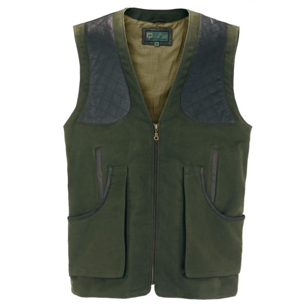 Gents-moleskin-shooting-vest-green-002M