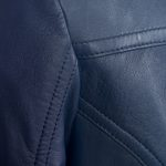 Ladies Jess blue blazer stitching detail