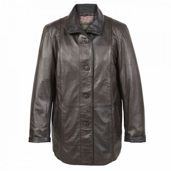 Ladies-Leather-Coat-Brn-Tara