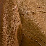 Ladies Tan blazer stitching detail Jess