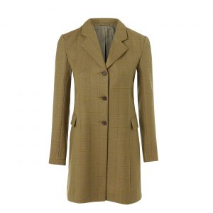 Ladies long tweed coat York