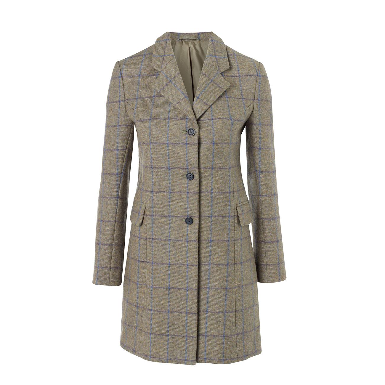 Ladies long tweed coat York