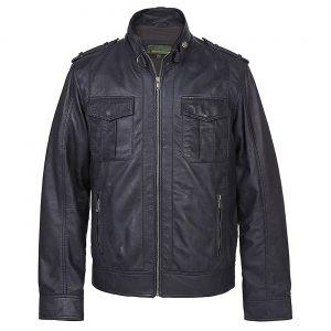 Mens Leather Jacket Jack Nvy