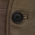 Mensmid brownshootingvestbuttondetail