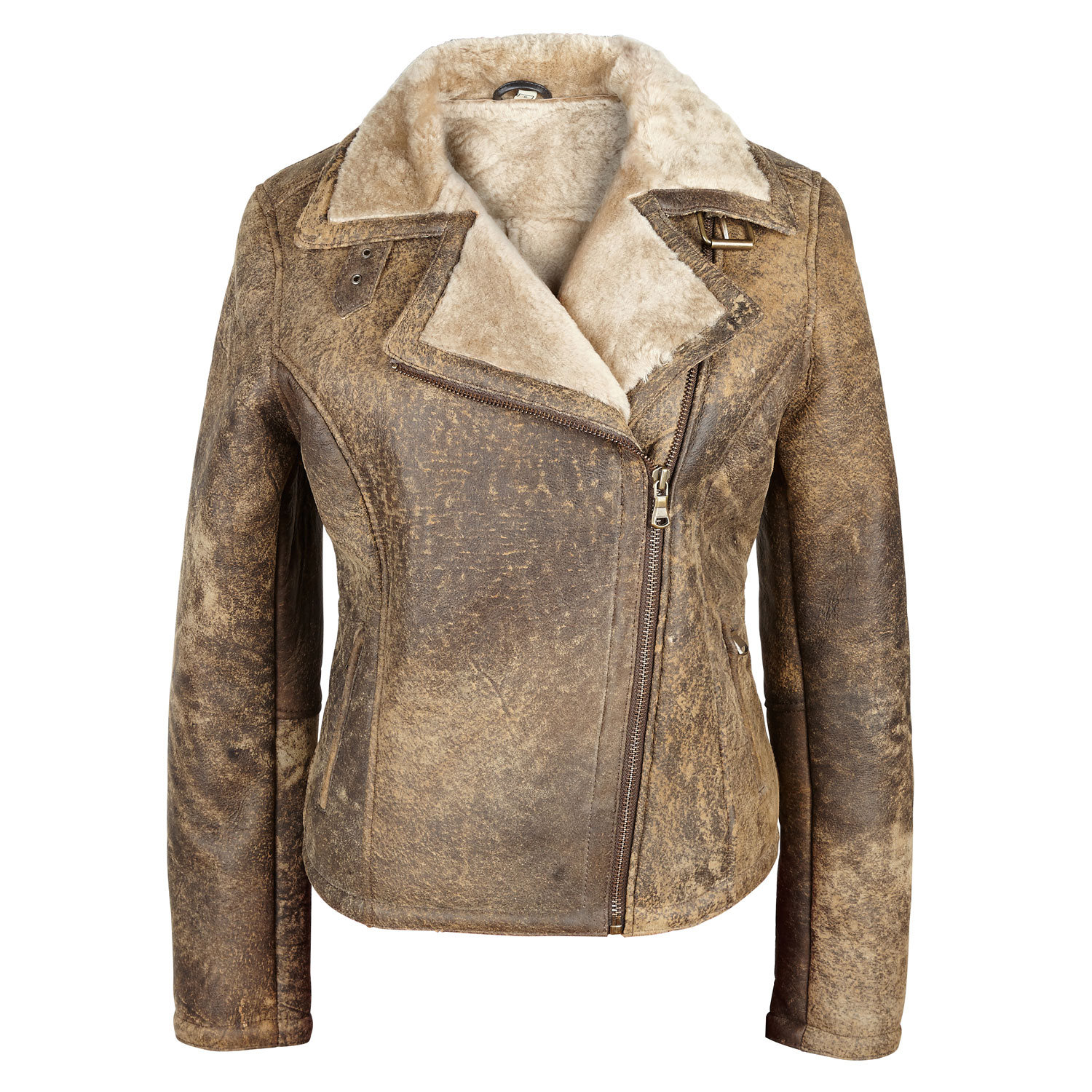 Ladies Sheepskin jacket Apache Amy