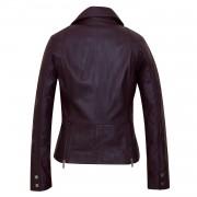 Ladies Leather Ladies jacket Burgundy Tess