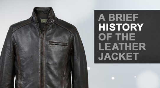 A brief history of leather in fashion
