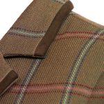 Ladies tweed jacket lomond collar detail