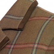 Ladies tweed jacket lomond collar detail