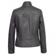 Ladies Grey leather jacket May