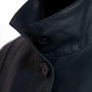 Maggie Navy collar detail