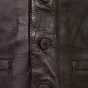 gents brown waistcoat button fasten