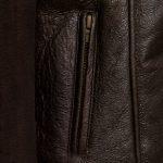 ladies sheepskin flying jacket amy antique pocket detail