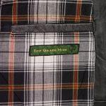 mens black waistcoat inside pocket