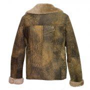 womens sheepskin flying jacket apache