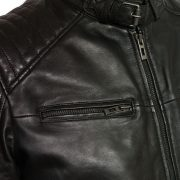 gents budd black pocket detail