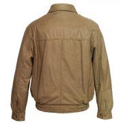 gents camel blouson jacket