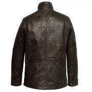 mens brown leather jacket brett