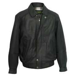 mens-grey-leather-blouson-9853