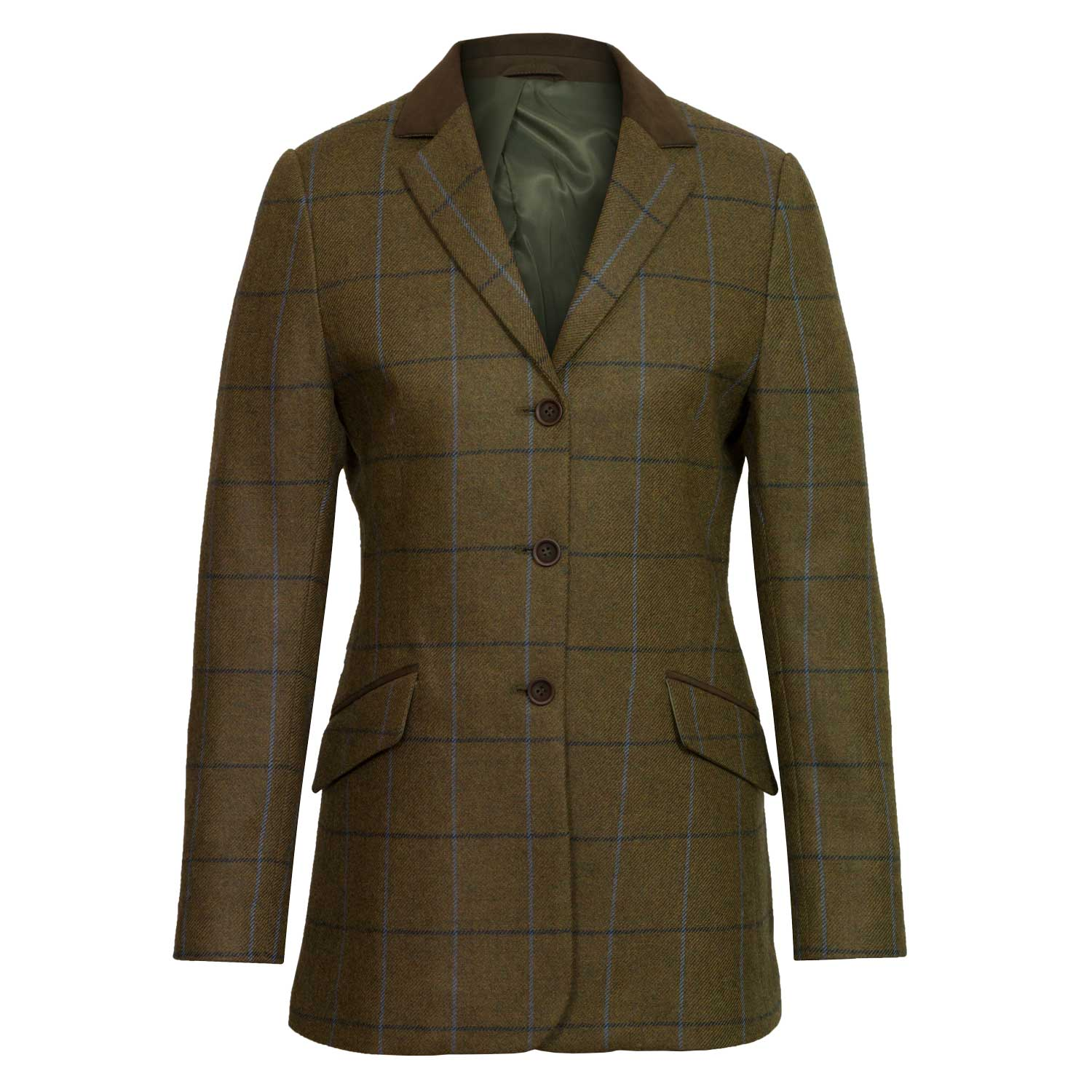 Women's Brown Tweed Jacket: Lomond