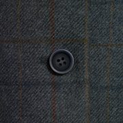 Ladies tweed blazer Blue lomond button detail