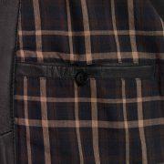 Gents Will leather blouson black inside pocket