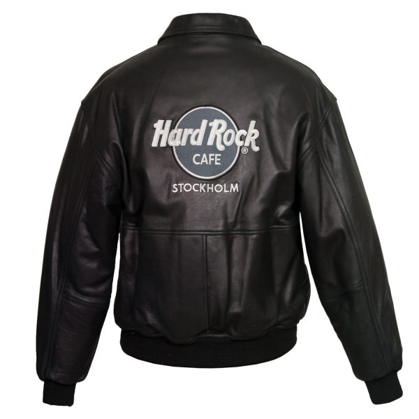 Gents Black hard rock cafe blouson jacket