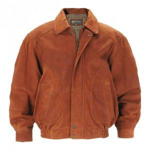 Men's Leather Blouson Jackets