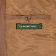 Women's Tan Leather Biker Jacket: Milly