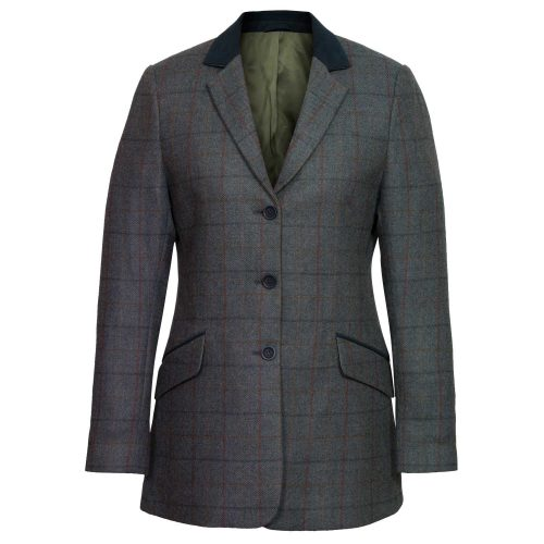 Women's Blue Tweed Jacket: Lomond
