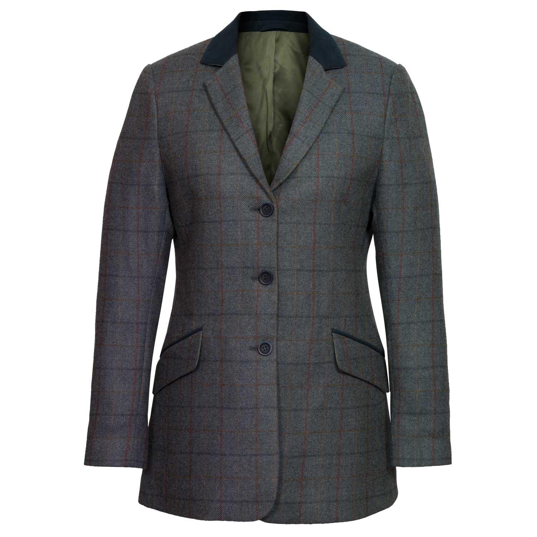 Women's Blue Tweed Jacket: Lomond