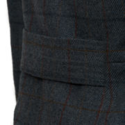 Women's blue tweed jacket Oban