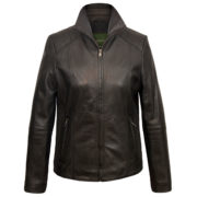 Ladies Milly Black Leather jacket