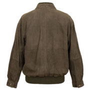 Mens branded leather jackets Brown