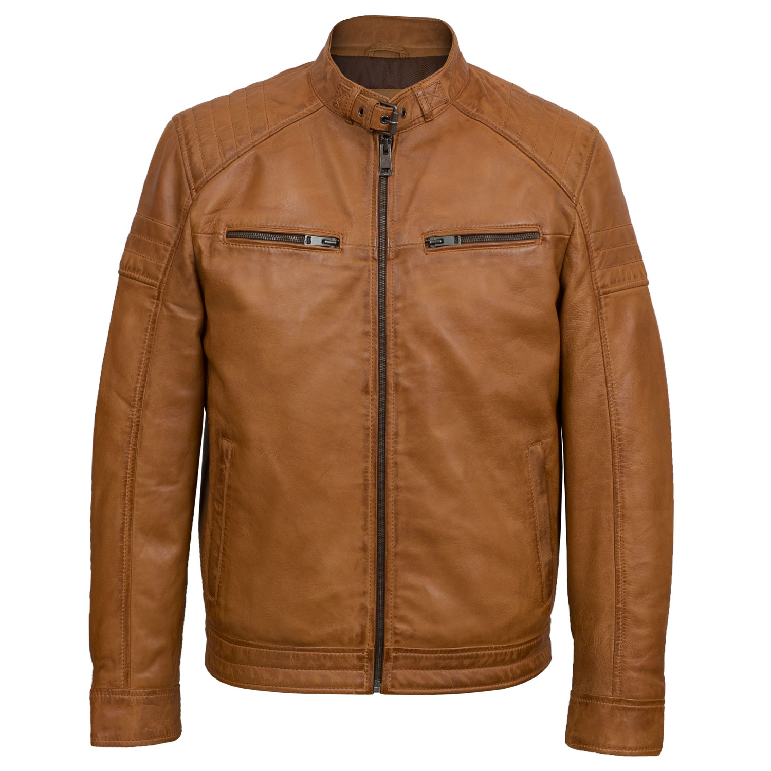 Men's Tan Leather Jackets