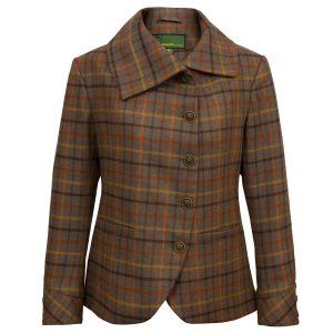 Womens Pink tweed jacket Oban