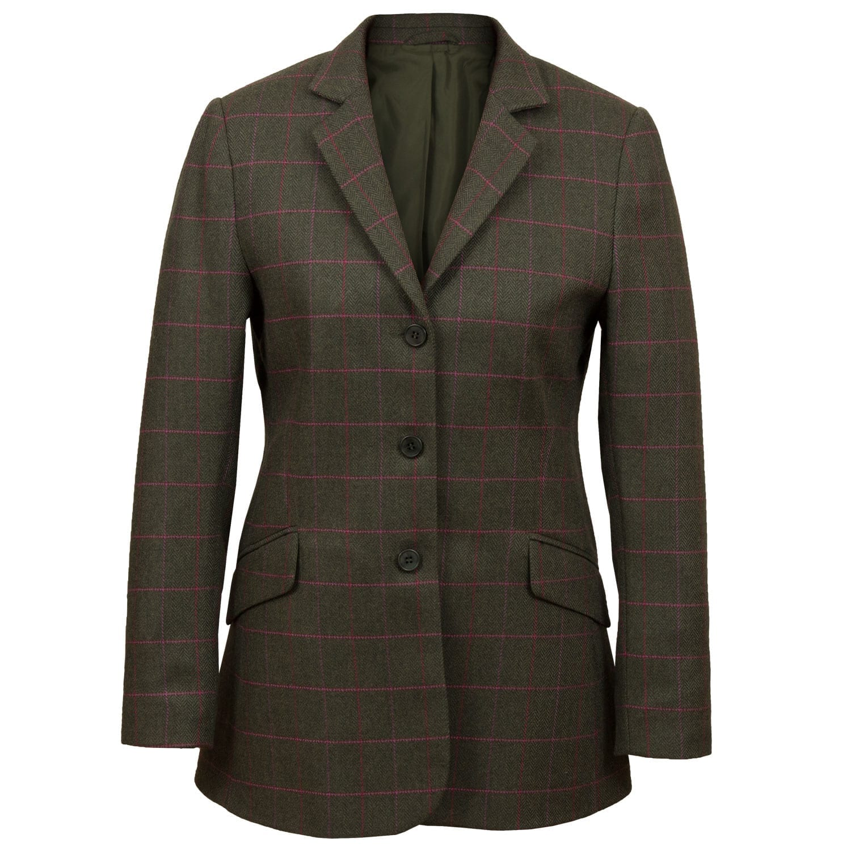 Womens Green tweed jacket Lomond